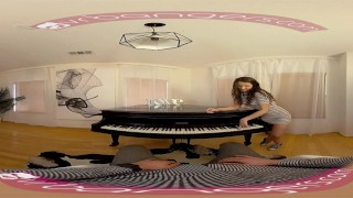 Preview 2 of VR PORN - Horny Student Fucks Her Piano Teacher