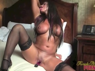 Good Luck Chuck Online Hd Fucking, Fit Pornstar Nikki Jackson Vibrates Her Wet Cunt