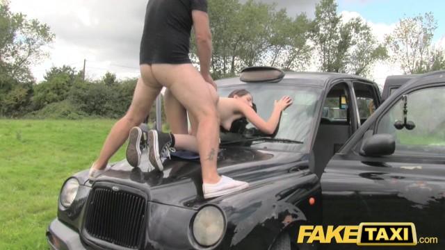 Nude lipstick for olive skin Fake taxi olive skin brunette gets fucked on car bonnet