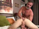 Bratty Son's Anal Punishment from Bear StepDaddy!
