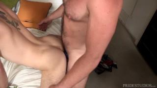 Bratty Son's Anal Punishment from Bear StepDaddy! porno