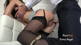 Secretary fucked squirt by her boss creampie squirting secretary