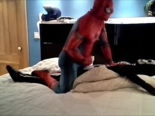 spiderman vs skeleton part2