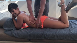 Preview 1 of FUCKED BY THE HOTEL POOL BOY XXX