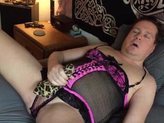 Masturbating In Tuggie