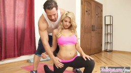 Twistys - Early Yoga Session - Johnny Castle and Natalie Vegas