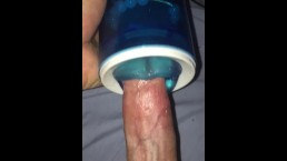 Getting My Dick Sucked By A Blue Thing Pt 2
