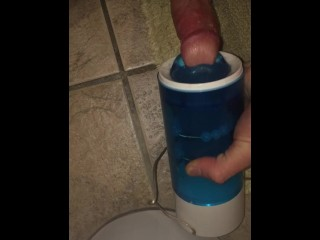 Getting My Dick Sucked By A Blue Thing Pt 1