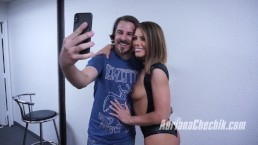 LE BLOWBANG D'ADRIANA CHECHIK AVEC SES FANS (making of)