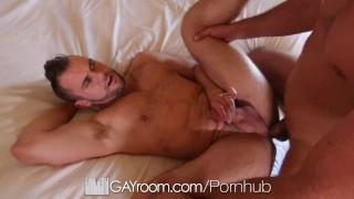 GayRoom Hotel massage fuck with hunks Blaze Austin and Tyler Roberts