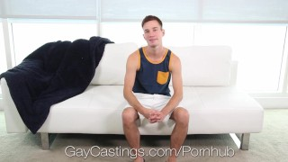 GayCastings Amateur Cameron Jakob fucked by casting agent porno