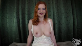 Stepmother's Cure for Porn Addiction -Lady Fyre Femdom  virtual sex point of view bush stepmother redhead roleplay stepson mom pov fetish kink butt addiction mother stepmom big boobs