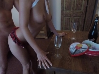Naughty valentine`s day with ClaudiaClass