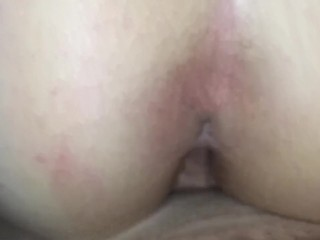 Wife riding my dick (in slow motion)