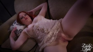 Mommy's Horny Little Boy - Lady Fyre Femdom Virtual Sex  olivia fyre virtual sex point of view bush ginger redhead mom pov taboo milf kink pawg butt fauxcest mother big boobs