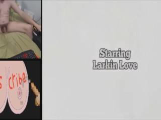 PRONMAN9731 PRESENTS: JACK OFF CHALLENGE EPISODE 2: LARKIN LOVE LATEX