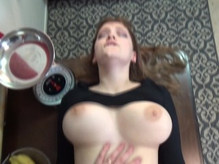 Preview 3 of Young couple have rough clothed sex