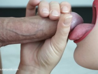 Lipstick Porn Tube — RED LIPSTICK BEST BLOWJOB EVER at Sex Strike