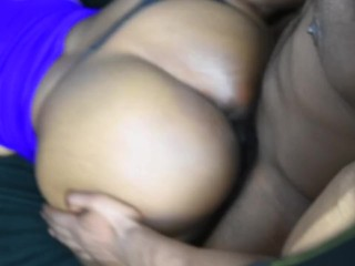 Backshots & Facial For Her Thick Ass