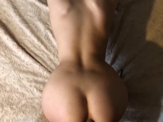 Young Teen Ass fucked for breakfast