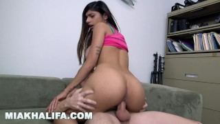 MIA KHALIFA - Cum Watch My Porn Audition With Tony Rubino Mature pussy