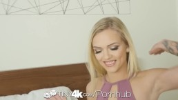 Tiny4k Pre birthday party fuck and facial for blonde Alex Grey