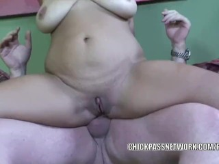 Busty babe Alanna Ackerman takes some dick in her hot ass