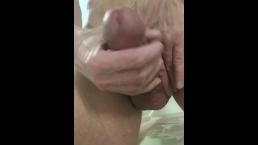 Massive Cum Fountain Cumshot