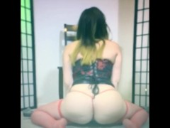 Quick Fat Ass Domme Booty Shake