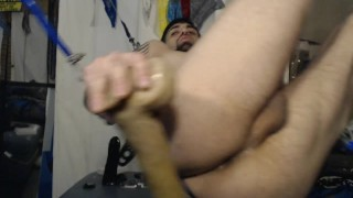 On super creamy making well sling hot it so hole xl sex w toys working my xl dildos