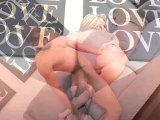 Spicy blonde MILF destroyed by bbc