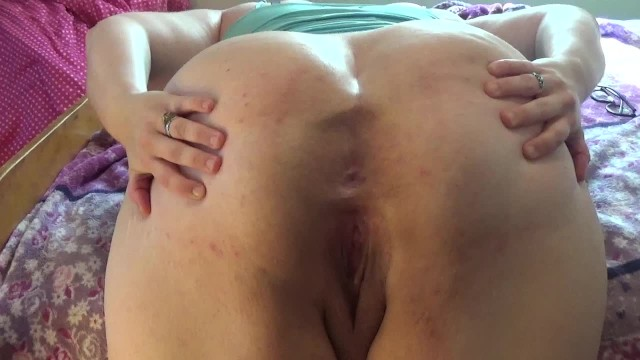 Closeup girl asshole Big assed bbw: closeup ass spread with loud ass shaking cute asshole