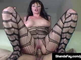 Hot Housewife Shanda Fay Banged In Pantyhose And Enjoying Sex