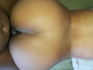 Thick hella bone booty beatdown
