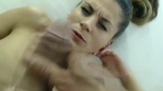 Horny Slut Slurps that Hard Cock