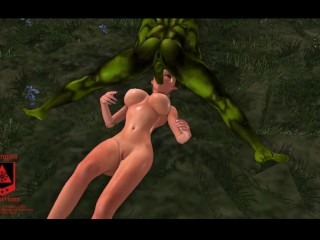 An Orc Elf Affair