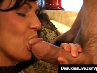 Katy Shavon Big Boobed Cougar Deauxma Gets Anal Banged By Horny Hard Fan, Big