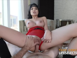 Brenna Sparks - Hot Brunette Fucked HARD
