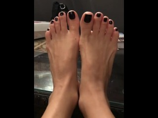 Vamp pedicure