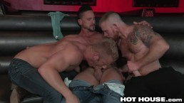 HotHouse Swole Hunk Dakota Rivers Exciting 3Some!