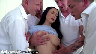 Dp and his by bratty daughter dad gangbanged friends all daddy sex