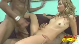 Dped Lana Croft Blacked In A 3some