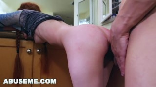 Redhead dolly abuseme likes little it hard petite rough and redhead rough