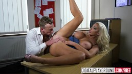 DigitalPlayground - The New Girl Episode 1 Nicolette Shea and Luke Hardy
