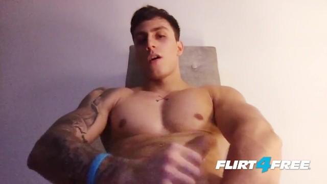 Youtube buff gay - Rick noe on flirt4free guys - buff latino hunk jerks off his big uncut cock