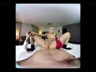 ZENRA JAV VR with tan gyaru Reona Maruyama