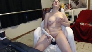 First time- Taking all of Bad Dragon Crackers and Creampie!