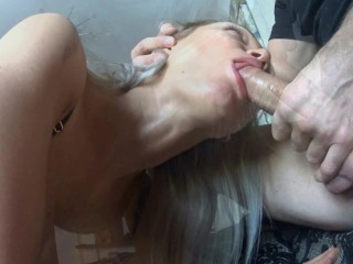 Best Amateur Sex Tape Ever footjob and cumshot on the ass