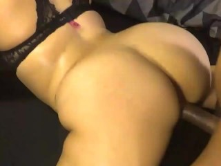 The Horny Big Slut Gets Her Tight Pussy Fucked Hard! Naked Ass!