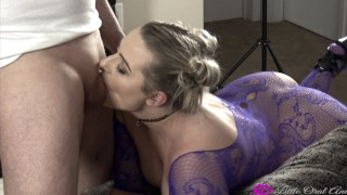A dick k in surprise young surprise splitroast for hotwife big threesome her guys